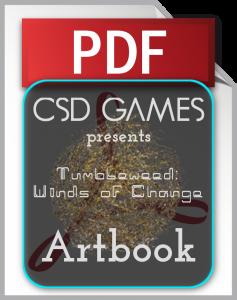 Tumbleweed: Winds of Change - Artbook